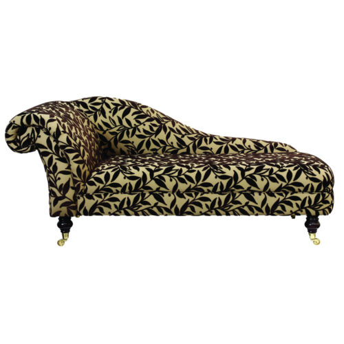 Rococo chaise longue leisure lounge http www for Chaise description