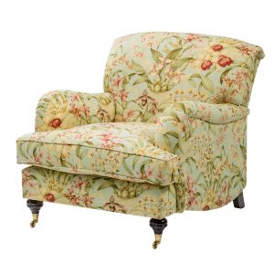 The Hampstead Occasional Chair in Timeless Floral Print for Spring