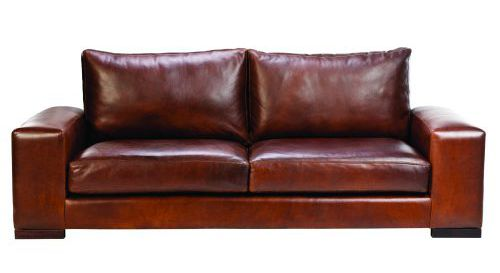 Leather Couches - Leisure Lounge Java Leather Couch