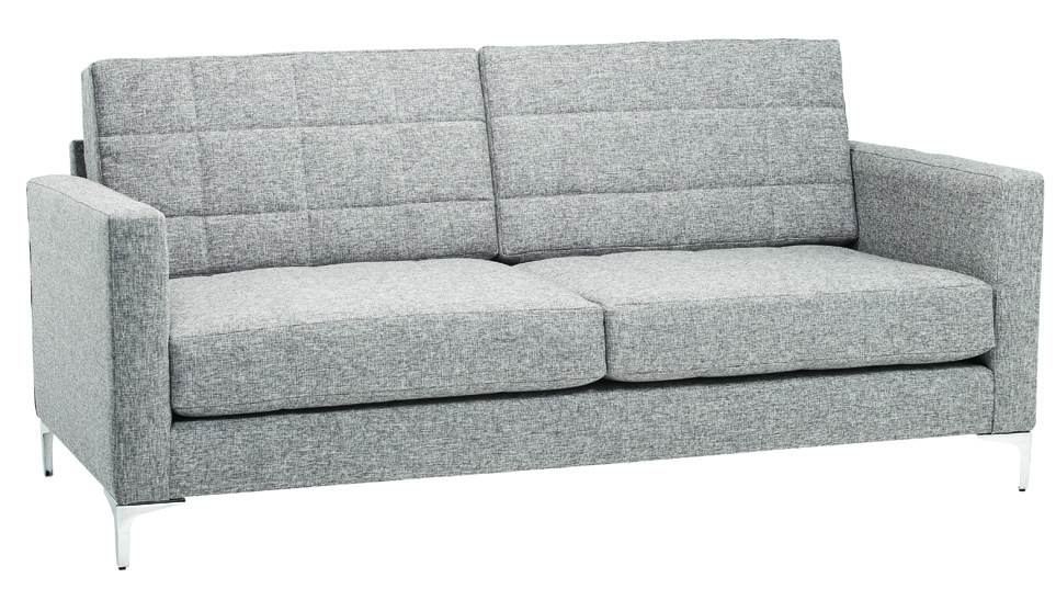 An on-trend grey couch from Leisure Lounge