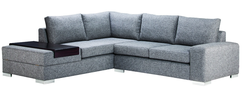 A neutral corner suite from Leisure Lounge