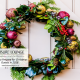 Christmas Wreath on Door