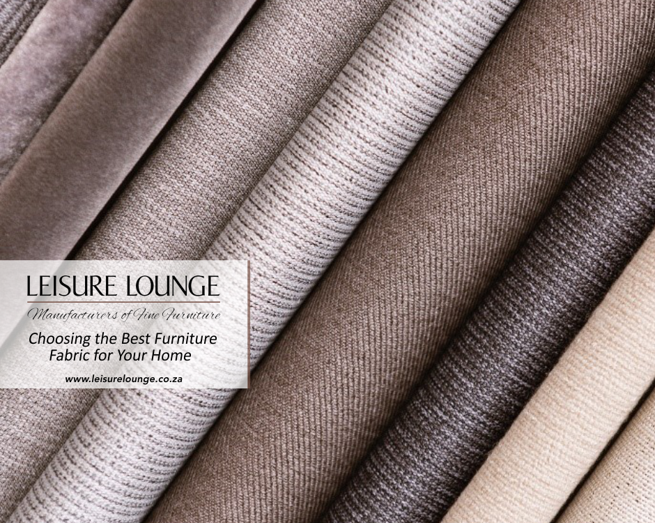 Choosing the Best Furniture Fabric for Your Home