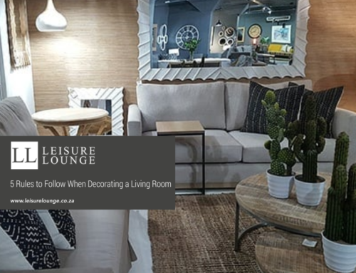 5 Rules to Follow When Decorating a Living Room