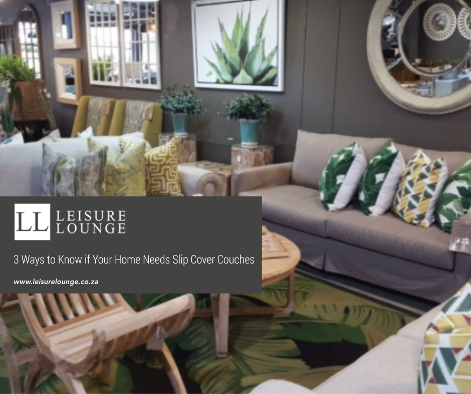Leisure Lounge slip cover couch